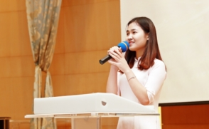 """Global Together"" hold speech Contest with Korean mentors"
