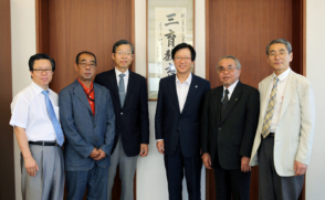 일본 후쿠오카현립대학 교수 일행, 삼육대 방문