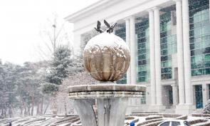 삼육대의 겨울