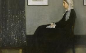 [힐링이 있는 그림 이야기] 회색과 검정의 배열 (화가의 어머니)