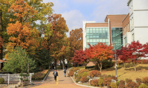 가을 캠퍼스 풍경