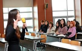 예비 신입생 250명 대상 어학설명회 개최