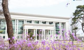 삼육대학교 캠퍼스에 찾아온 봄