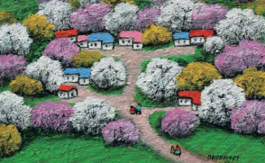 [힐링이 있는 그림 이야기] 평화 마을
