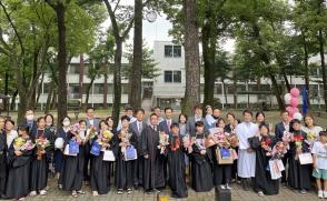 대학교회 어린이선교회 침례식…어린이 10명 새로남