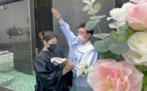 글로벌한국학과 中 유학생 침례식